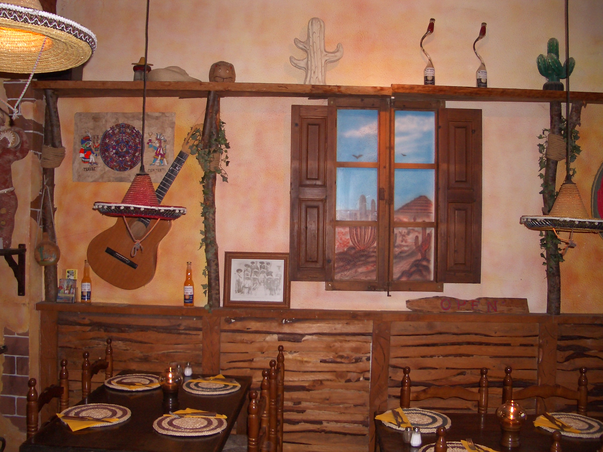 tex mex decoratie